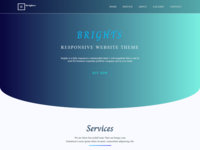 Brights Html 5 Website Responsive Template