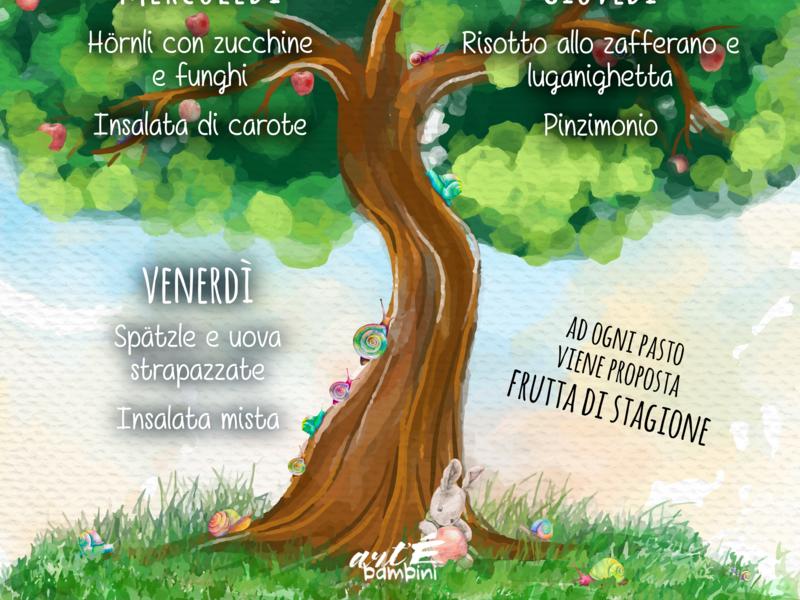 New Design Menu Camalu nature children design kids design menu design snail