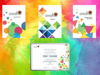Copertine Camalu affinity designer kids design