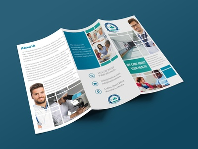 People Care Clinic Trifold Brochure