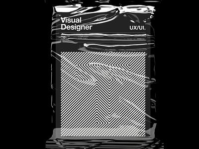 T 02. Visual Designer Poster. design a3 poster