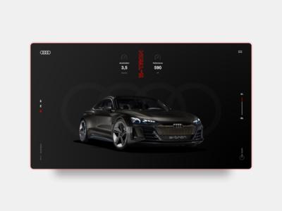 AUDI e-TRON - Concept Design
