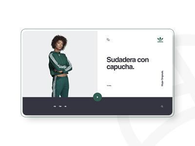 ADIDAS - Concept Design adidas site graphic design design web design web ui ux uidesign graphic website designer