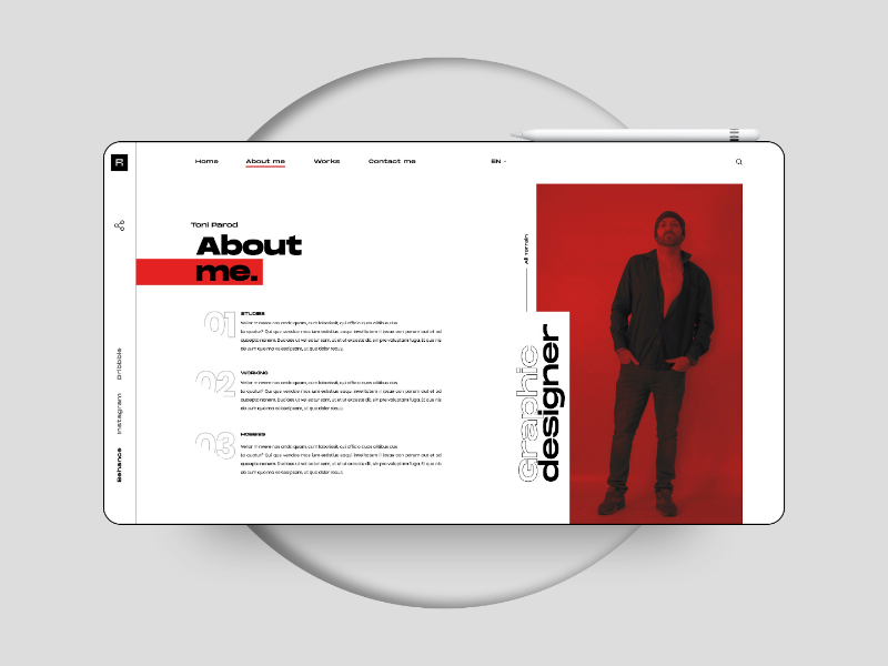 Interactive Pdf Indesign By Toni Parod On Dribbble