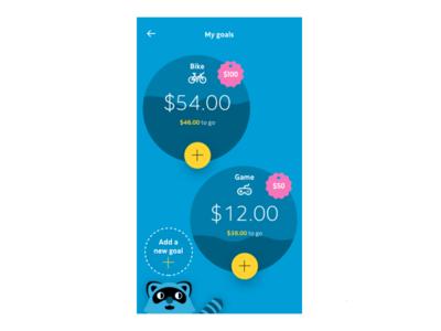 Kids financial app