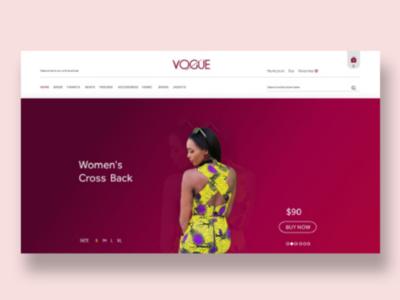 Landing Page | VOGUE