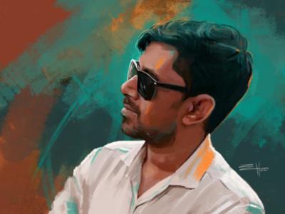 CG portrait