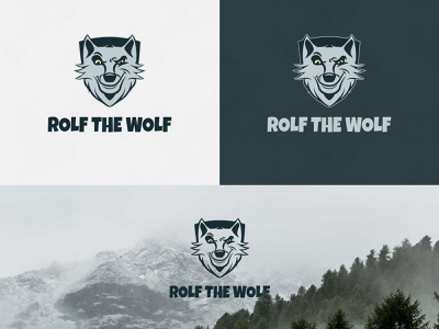 Rolf The Wolf Brand Identity artdirection graphicdesign brandidentity logo branding typography design