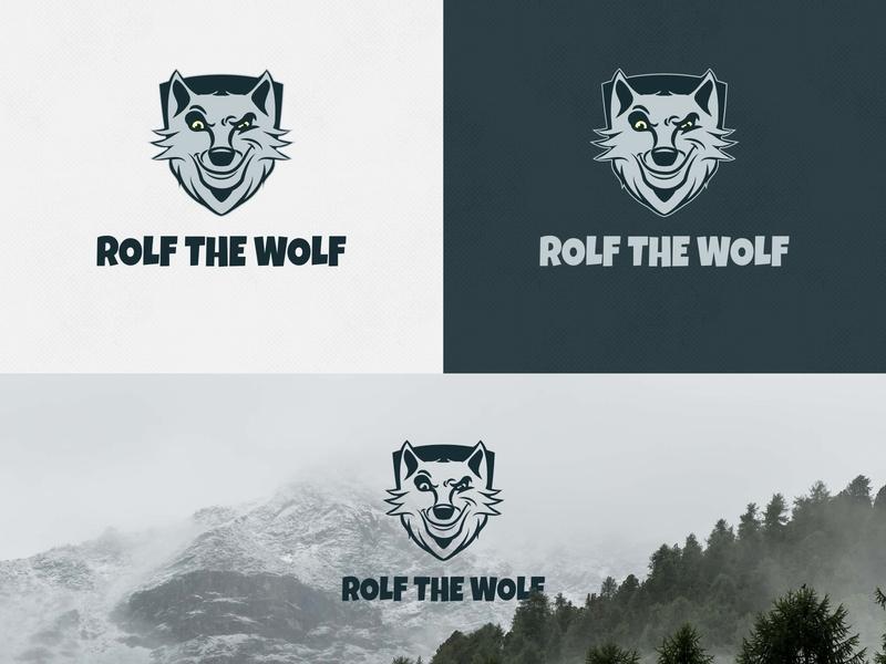 Rolf The Wolf Brand Identity artdirection graphicdesign brandidentity logo branding typography design