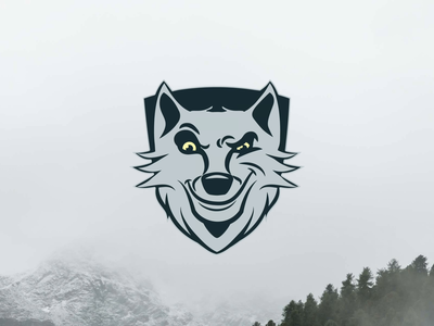 Rolf The Wolf Logo icon illustration process identity branding logo motion design art direction animation