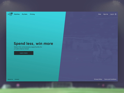 Football Jackpot football soccer web website web design typography interactive interaction design motion ux ui animation