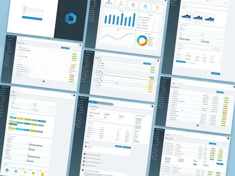 Dairamon Overview platform ecommerce cms art direction interactive interaction branding web ux website ui typography design