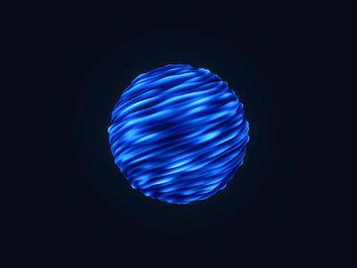 Sphere - WGL001 webgl webdev threejs shader glsl generativeart codeart creativecoding animation 3d