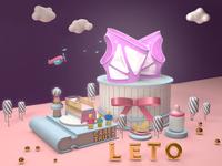 Advertisement for Leto