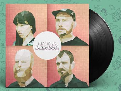Little Dragon vinyl cover