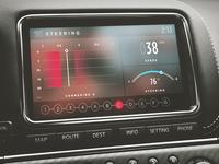 Nissan GTR Multi Function Display UI