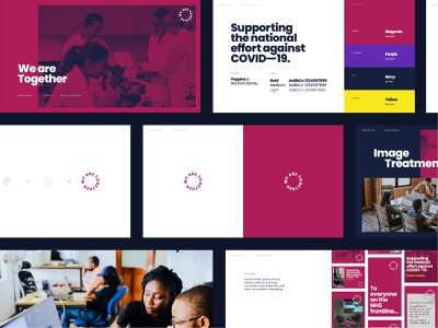 WeAreTogether Exploration social guidelines social typography rules palette identity brand guidelines guidelines brand identity branding brand