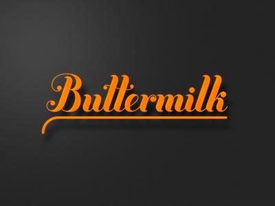 Buttermilk type buttermilk dark gradients