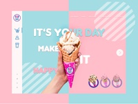 Baskin Robbin home page