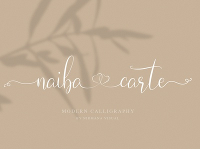 Naibacarte Beautiful Font