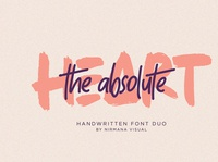 The Absolute - Font Duo