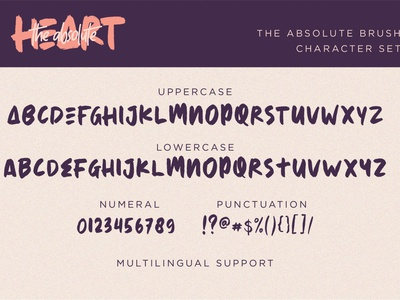 The Absolute - Font Duo brush drybrush brushfont marker chirstmast logo design lettering typography font illustration graphicdesign design branding