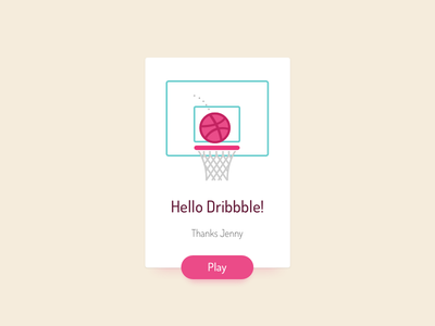 Hello Dribbble! debut thanks dribbble first shoot invite