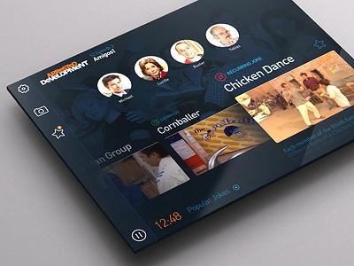 Giggles App second screen ipad project hci interactive tv app