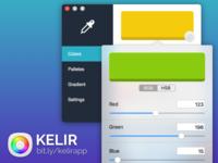 Kelir - Color picker for your mac