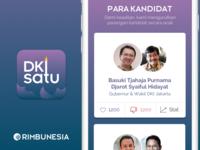 DKI Satu - Local election app