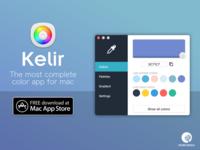 Kelir - Color picker for mac