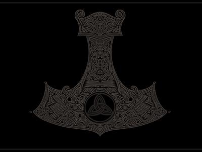 Thor's Hammer - Shirt design idea design arts shirt shahrokhi tees t-shirt design ideas t-shirt designer shirt designer shirtdesign merch designer merch design tee design fashion clothes t-shirts t-shirt tee