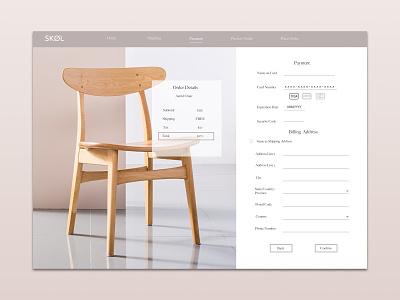 Ecommerce Payment Page website ux ui design web payment page ecommerce design daily ui 002