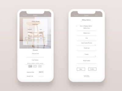 Ecommerce App Payment Page