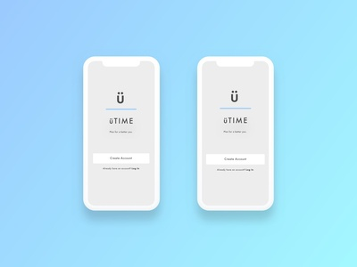 Self Care App Sign-up Page