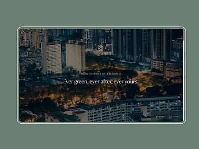 Tour Booking green website design ux ui