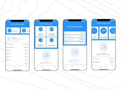 Home Screen - Finance App