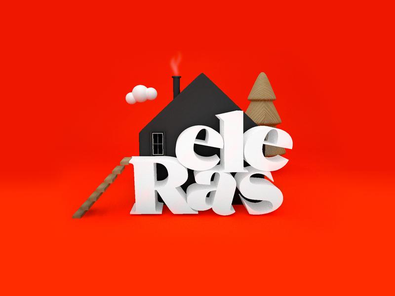 Reales App c4d app white design