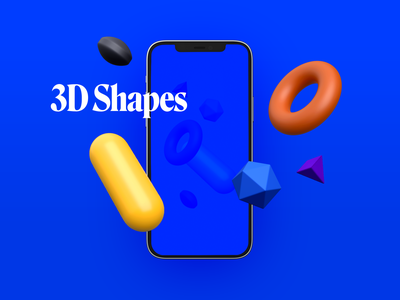 3D Shapes & Scenes (WIP) presentation scenes shapes 3d