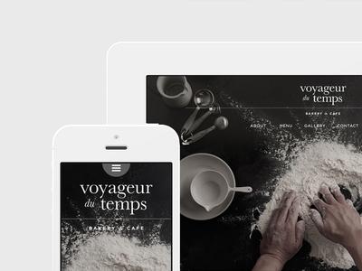 Voyageur Du Temps Responsive Design