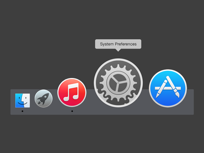 Yosemite Settings Icon