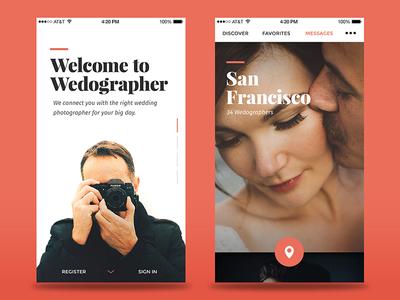 iOS Wedographer