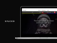 SPACED Homepage (Contest)