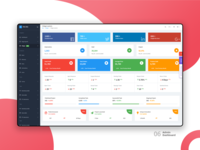 Widget Page :  Elite Able Admin Dashboard