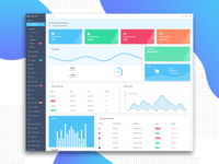 Ecommerce Visual Admin Dashboard