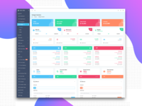 Widget Page: Dash Able Admin Template