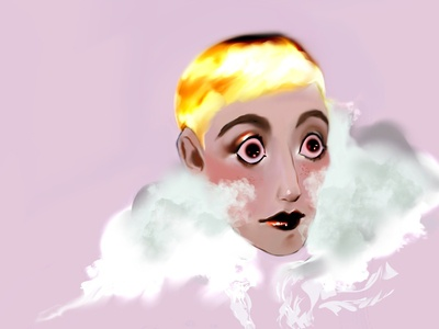 88 procreate digital drawing print character poster дизайн иллюстрация design illustration