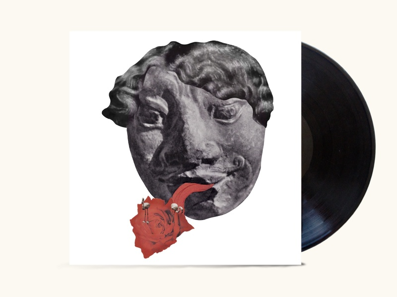 Indie music язычковые фламинго cd artwork cd design cd cover vinyl vintage character дизайн design иллюстрация illustration