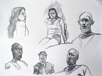 sketches in different styles. over the last couple of months.