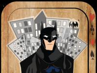 batman playing card
